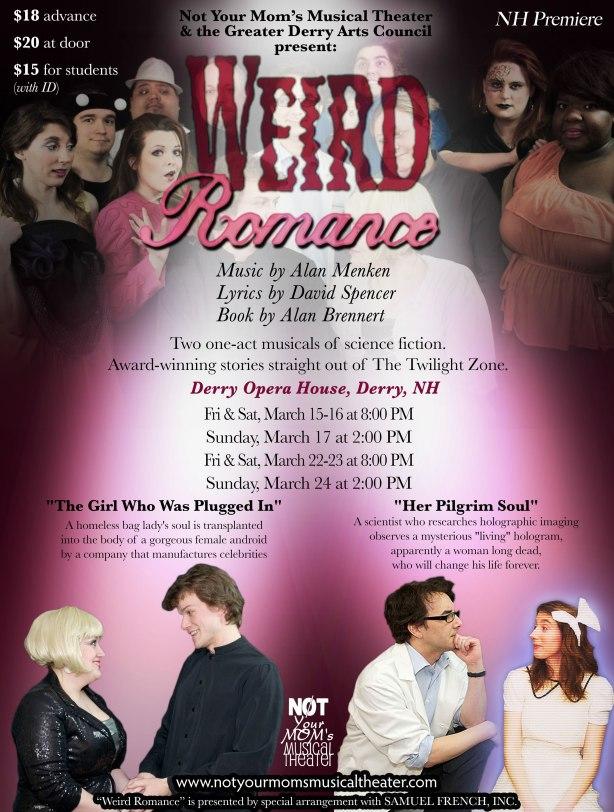 Full Print Weird Romance poster