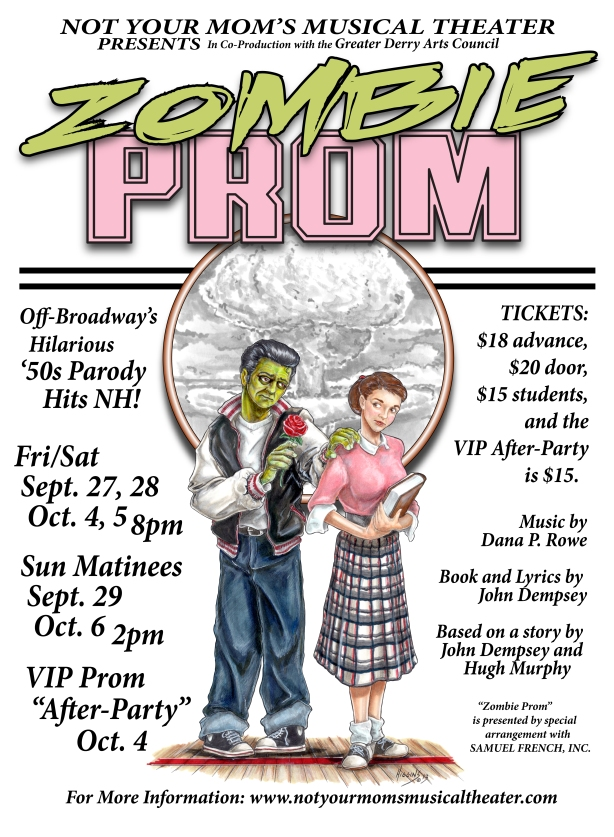 Zombie Prom opens next week - Get your tickets now!